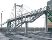 Yaya köprüsü 3d model