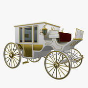 Royal carriage 3d model