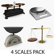 Pakiet wagi 3d model