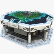 Sci-fi Table PBR 3d model