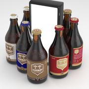 Garrafa de cerveja Chimay 330ml collection 3d model