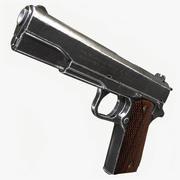 Colt M1911A1 Pistol 3d model