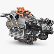 Sci-fi Engine 2 3d model