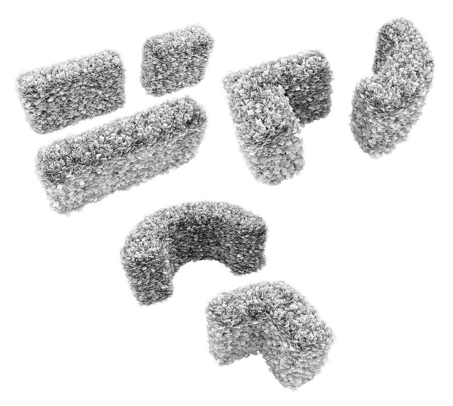 Coleção de sebes e arbustos (10 em 1) royalty-free 3d model - Preview no. 46