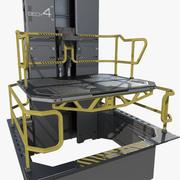 Modułowa winda winda science fiction 3d model