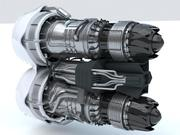 Turbine Jet Dual SC 3d model
