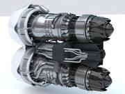 Turbine Jet Dual SC modelo 3d