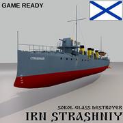 索科尔级驱逐舰Strashniy 3d model