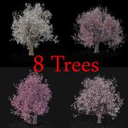 开花树集合 3d model