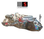 Balayage de déchets métalliques 16K 3d model