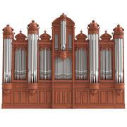 Stort organ 3d model