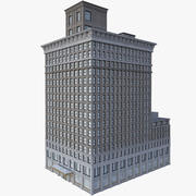 Здание банка 3d model