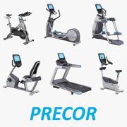 Équipement d'exercice Set professionnel Precor 3d model