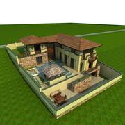 Villa_c 3d model