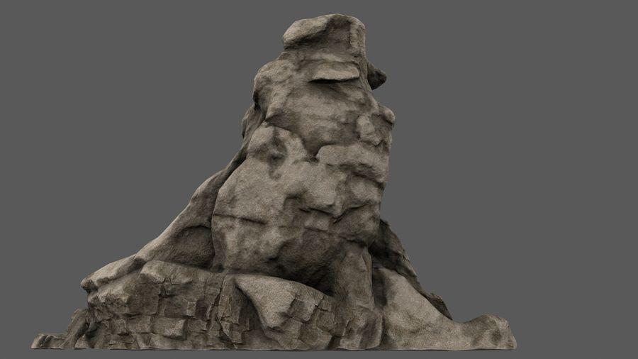 berg royalty-free 3d model - Preview no. 1