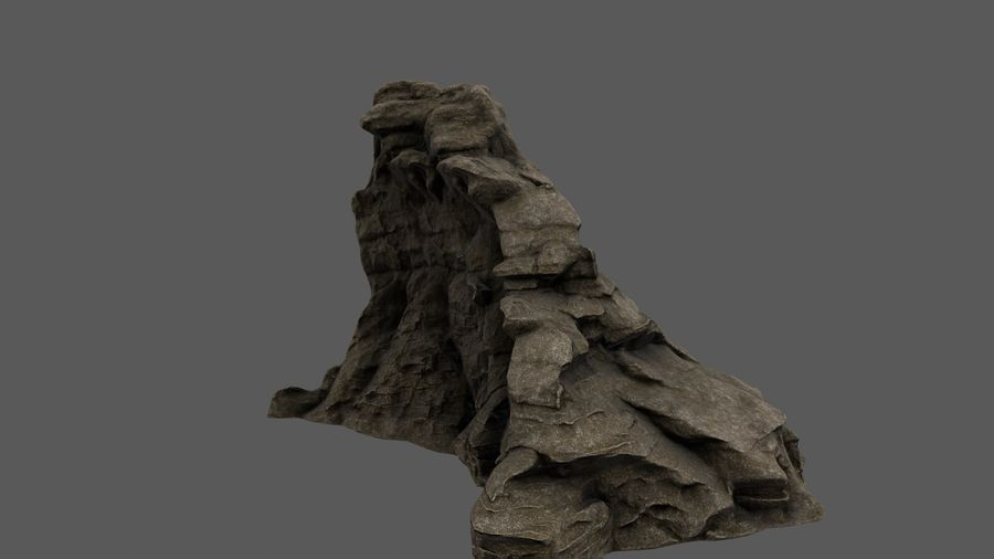 berg royalty-free 3d model - Preview no. 9