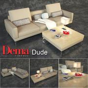 Série de canapés modulaires Dema Dude 3d model