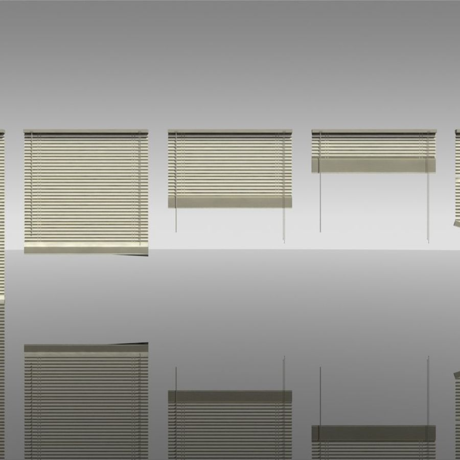 blinds royalty-free 3d model - Preview no. 4