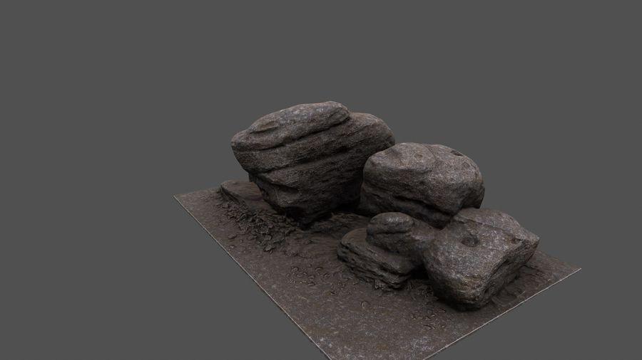 klif rots royalty-free 3d model - Preview no. 11