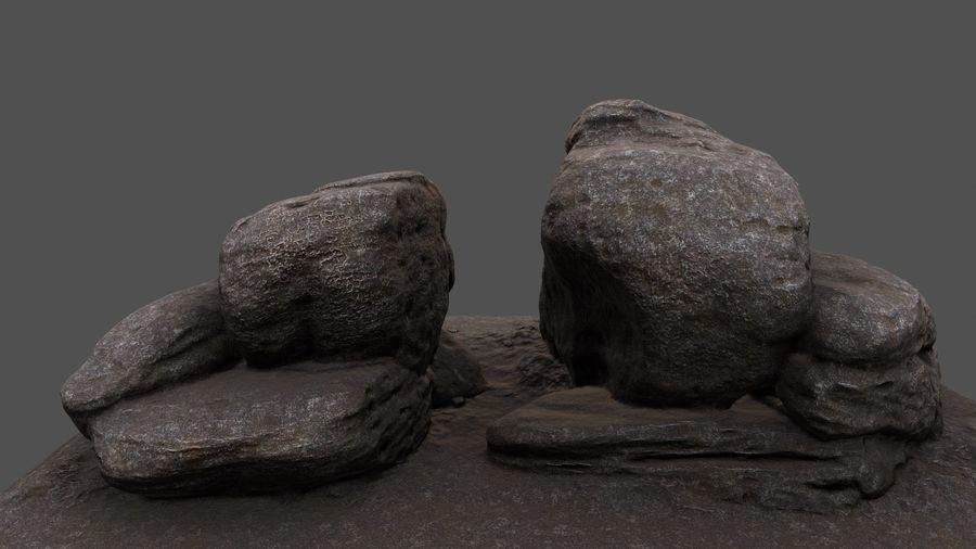 klif rots royalty-free 3d model - Preview no. 1