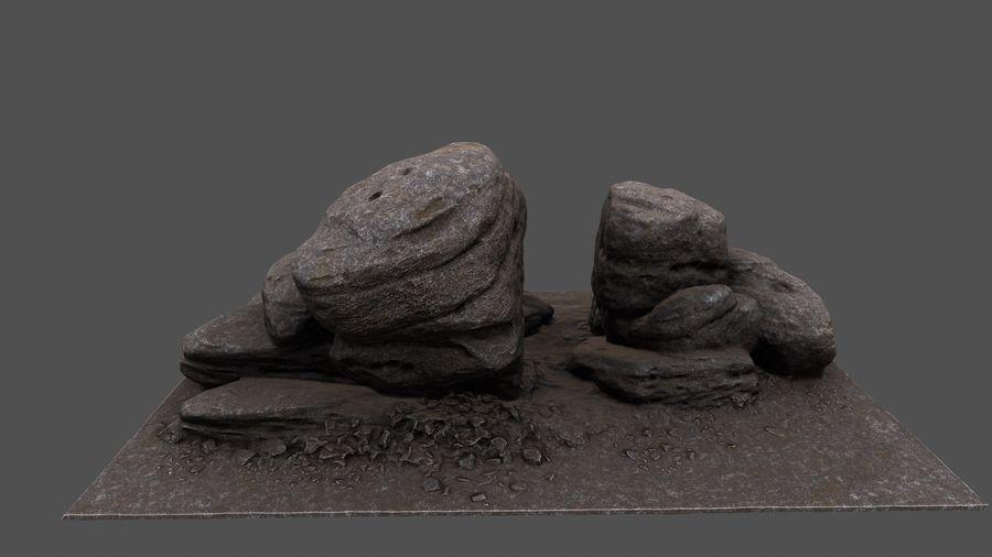 klif rots royalty-free 3d model - Preview no. 6