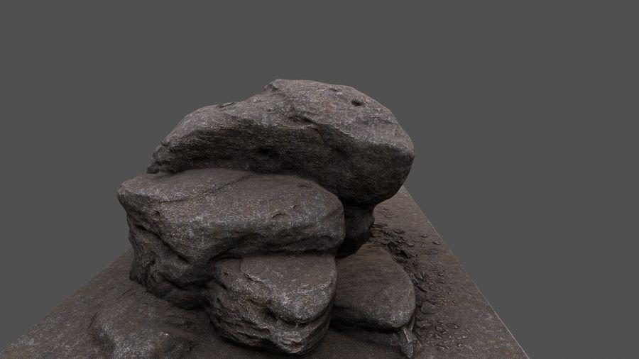 klif rots royalty-free 3d model - Preview no. 2