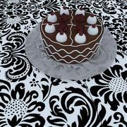 Торт 3d model