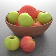 りんご 3d model