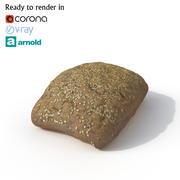 Pão 3d model