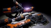 arc gun 3d model
