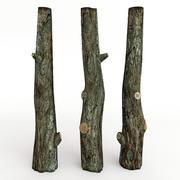 木の幹 3d model