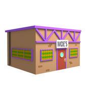 Moes Taverne 3d model