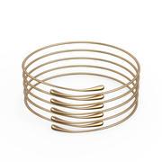Gouden armband Waterdrop ontwerp 3d model