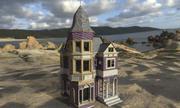 童话之家 3d model