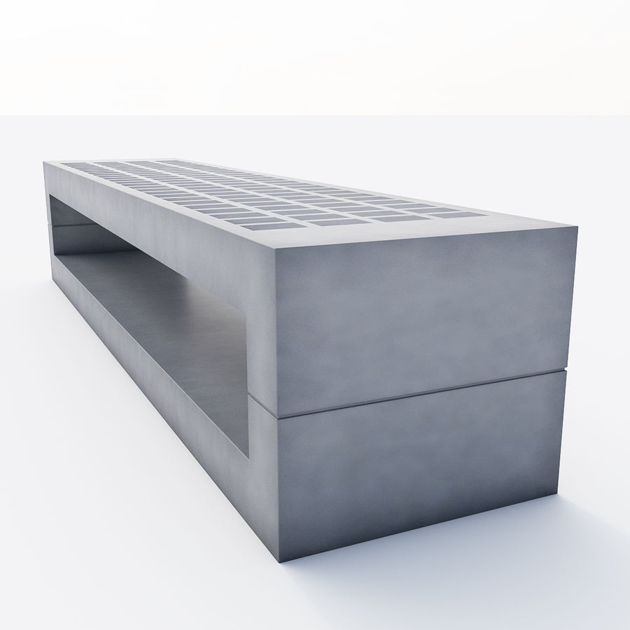 Bench Sky11 Elements 1060 royalty-free 3d model - Preview no. 3