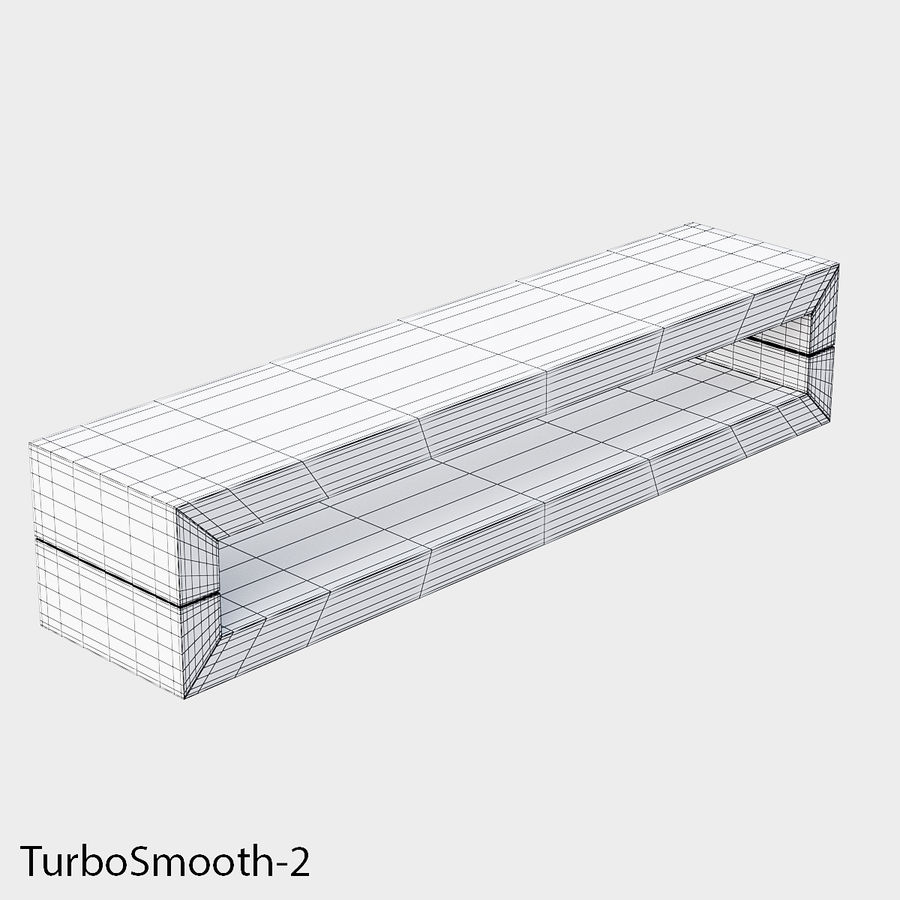 Bench Sky11 Elements 1060 royalty-free 3d model - Preview no. 7