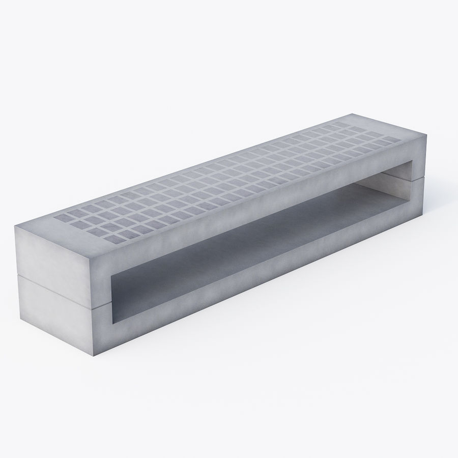 Bench Sky11 Elements 1060 royalty-free 3d model - Preview no. 2