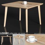IKEA LISABO Couchtisch 70cm 3d model