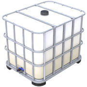 Caged IBC Tote 1 3d model