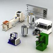 Utrustning för livsmedelsbutiken 3d model