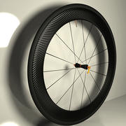 Carbon wheel road bike 3d model