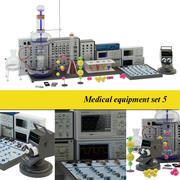 Medicinsk laboratorium 5 3d model