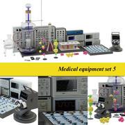 Medical laboratory 5 3d model