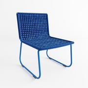 Blue chair 3d model