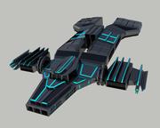 Rymdskepp 3d model
