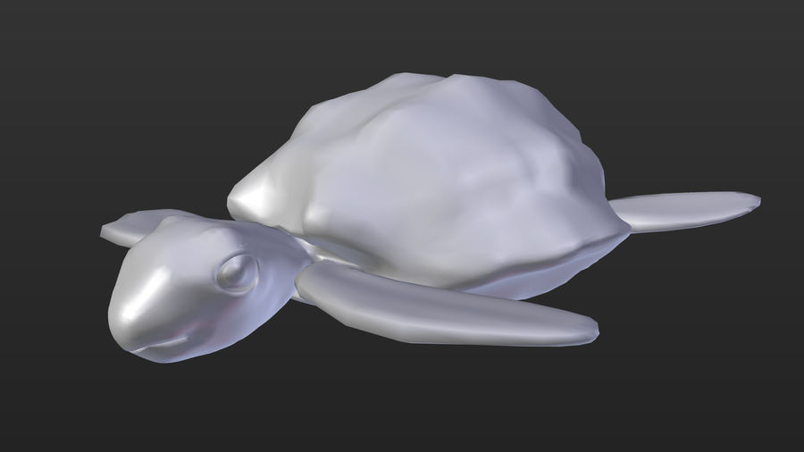 Turtle royalty-free 3d model - Preview no. 2