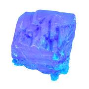 Blue Salt Crystal 1 3d model