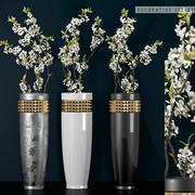 装饰花瓶套装27 3d model
