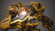 Mechwarrior(1) 3d model