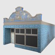 Küçük Dükkan - Oyuna Hazır 3d model